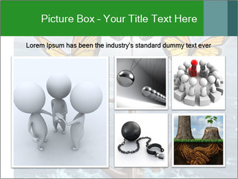 Butterflies And Anchor PowerPoint Templates - Slide 19