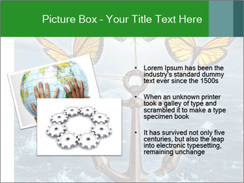 Butterflies And Anchor PowerPoint Template - Slide 20