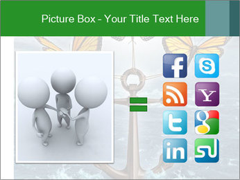 Butterflies And Anchor PowerPoint Templates - Slide 21