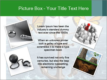 Butterflies And Anchor PowerPoint Template - Slide 24