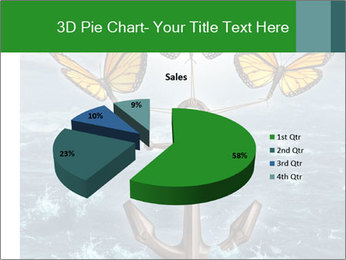 Butterflies And Anchor PowerPoint Template - Slide 35
