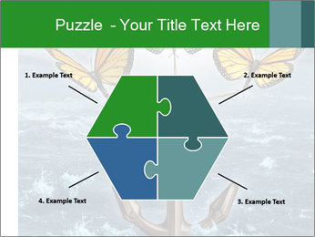 Butterflies And Anchor PowerPoint Template - Slide 40