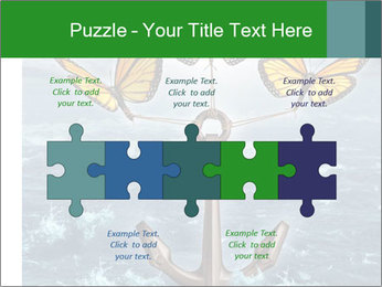 Butterflies And Anchor PowerPoint Template - Slide 41
