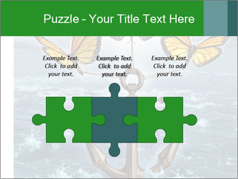 Butterflies And Anchor PowerPoint Template - Slide 42