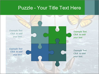 Butterflies And Anchor PowerPoint Template - Slide 43