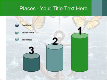 Butterflies And Anchor PowerPoint Template - Slide 65