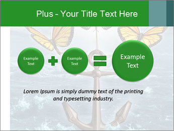 Butterflies And Anchor PowerPoint Template - Slide 75