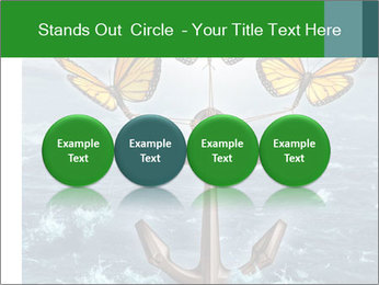 Butterflies And Anchor PowerPoint Template - Slide 76