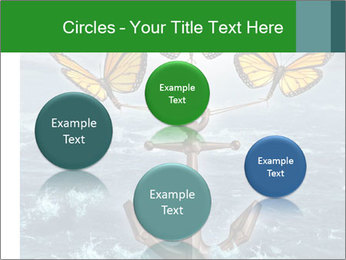 Butterflies And Anchor PowerPoint Templates - Slide 77