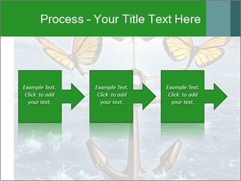 Butterflies And Anchor PowerPoint Template - Slide 88
