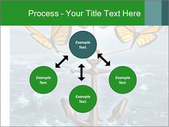 Butterflies And Anchor PowerPoint Template - Slide 91
