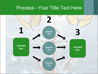 Butterflies And Anchor PowerPoint Template - Slide 92