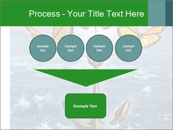 Butterflies And Anchor PowerPoint Template - Slide 93