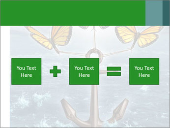 Butterflies And Anchor PowerPoint Template - Slide 95