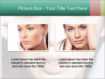 Woman With Natural Makeup PowerPoint Template - Slide 18