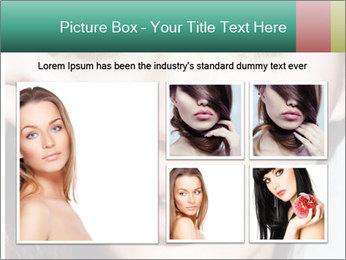 Woman With Natural Makeup PowerPoint Template - Slide 19