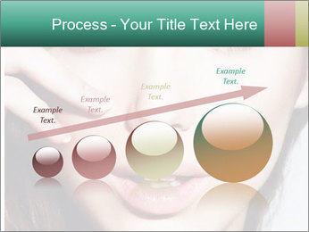 Woman With Natural Makeup PowerPoint Template - Slide 87