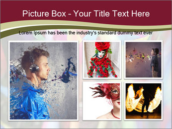 Dancing People In Motion PowerPoint Template - Slide 19