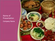 Traditional Chinese Dinner PowerPoint Templates