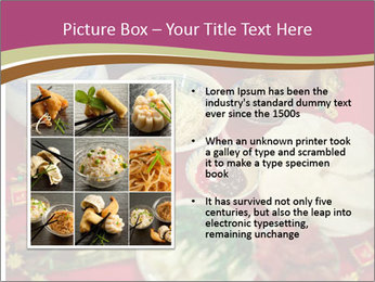 Traditional Chinese Dinner PowerPoint Template - Slide 13
