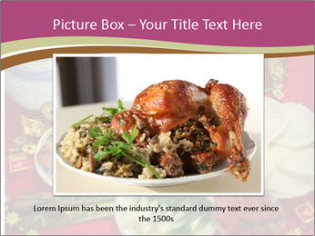 Traditional Chinese Dinner PowerPoint Template - Slide 15