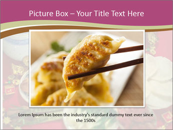 Traditional Chinese Dinner PowerPoint Template - Slide 16