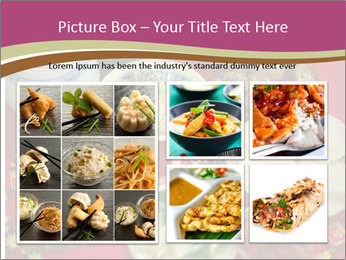 Traditional Chinese Dinner PowerPoint Template - Slide 19