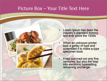 Traditional Chinese Dinner PowerPoint Template - Slide 20