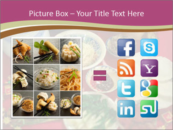 Traditional Chinese Dinner PowerPoint Template - Slide 21