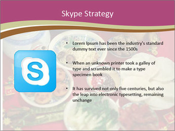 Traditional Chinese Dinner PowerPoint Template - Slide 8