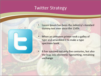 Traditional Chinese Dinner PowerPoint Template - Slide 9