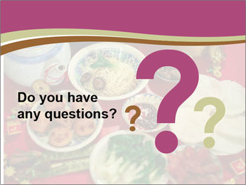 Traditional Chinese Dinner PowerPoint Template - Slide 96