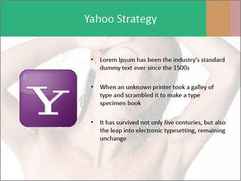 Sensual Woman In Bathroom PowerPoint Template - Slide 11