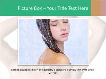 Sensual Woman In Bathroom PowerPoint Template - Slide 15