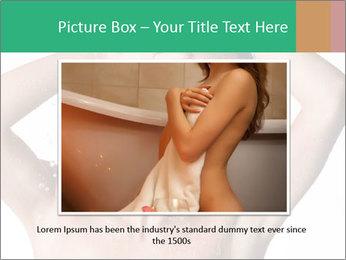 Sensual Woman In Bathroom PowerPoint Template - Slide 16