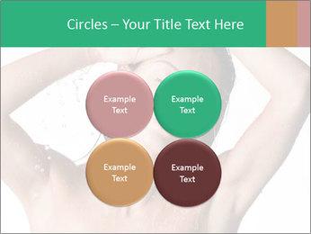 Sensual Woman In Bathroom PowerPoint Template - Slide 38