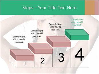 Sensual Woman In Bathroom PowerPoint Template - Slide 64