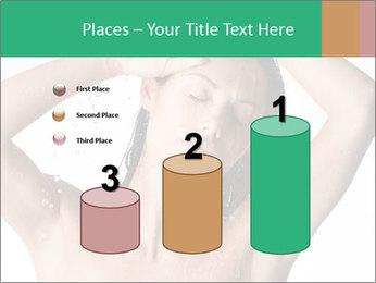 Sensual Woman In Bathroom PowerPoint Template - Slide 65
