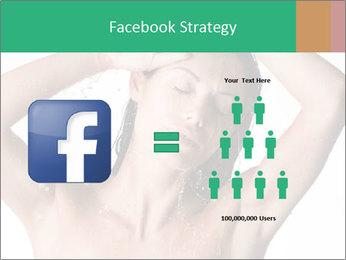 Sensual Woman In Bathroom PowerPoint Template - Slide 7