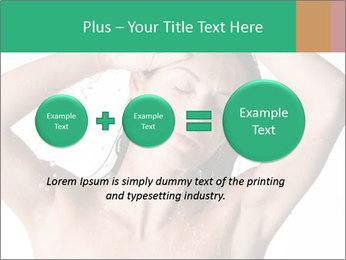 Sensual Woman In Bathroom PowerPoint Template - Slide 75