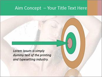 Sensual Woman In Bathroom PowerPoint Template - Slide 83