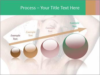 Sensual Woman In Bathroom PowerPoint Template - Slide 87