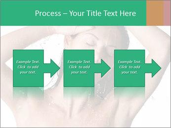Sensual Woman In Bathroom PowerPoint Template - Slide 88