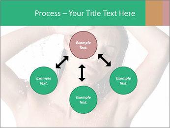 Sensual Woman In Bathroom PowerPoint Template - Slide 91
