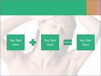 Sensual Woman In Bathroom PowerPoint Template - Slide 95
