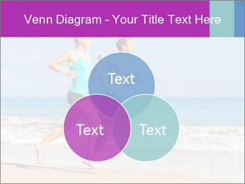 Couple Jogging On Beach PowerPoint Templates - Slide 33