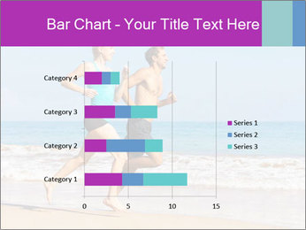 Couple Jogging On Beach PowerPoint Templates - Slide 52