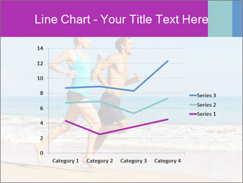 Couple Jogging On Beach PowerPoint Templates - Slide 54