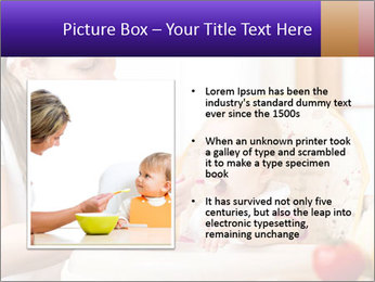 Baby Eating Time PowerPoint Template - Slide 13