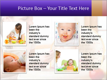 Baby Eating Time PowerPoint Template - Slide 14